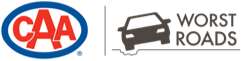 CAA Worst Roads Atlantic Canada Logo