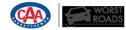 CAA Worst Roads Saskatchewan Logo